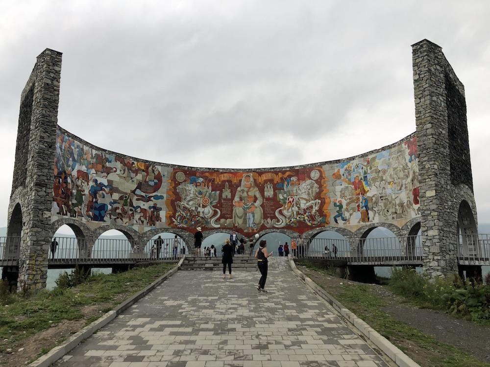 monument gruzinskoruskeho pratelstvi