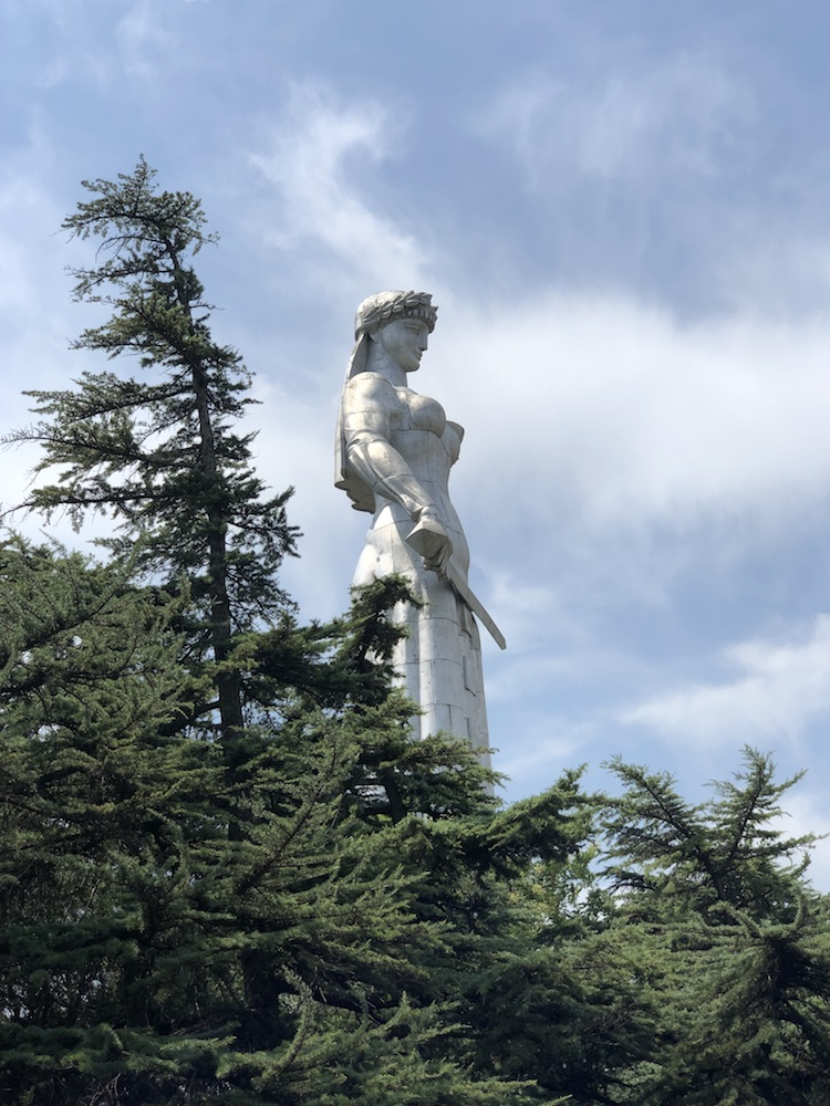Matka Gruzie v tbilisi